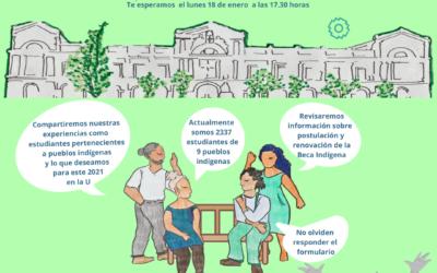 Primer Encuentro de estudiantes indígenas de la U de Chile