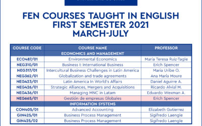 FEN courses taught in English
