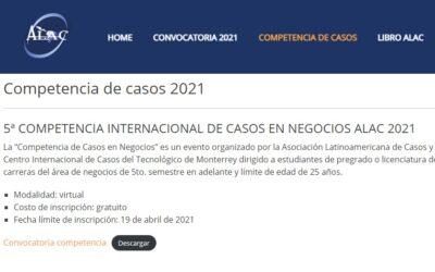 5.ª Competencia de casos para estudiantes – ALAC 2021