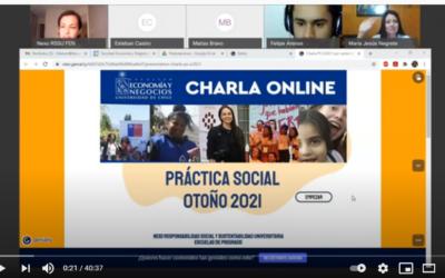 Charla Prácticas Sociales otoño 2021