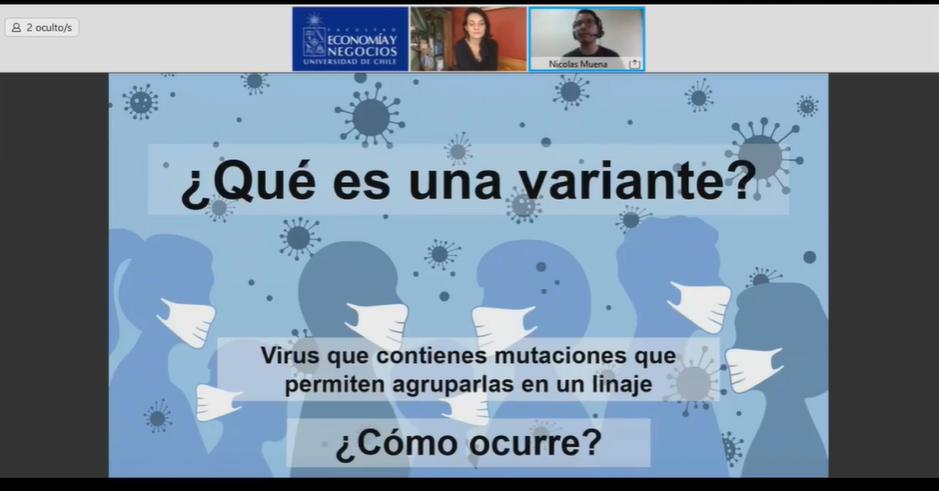 144 participantes tuvo la charla sobre vacunación para Covid-19