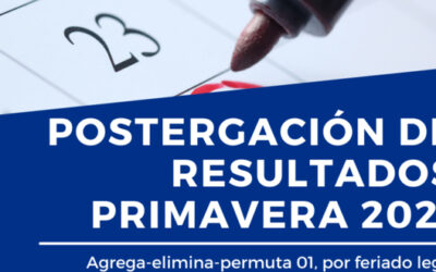 Postergación resultados agrega/elimina/permuta 01