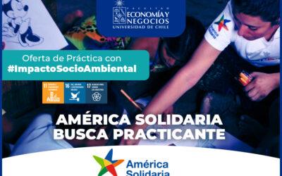 América Solidaria busca practicante
