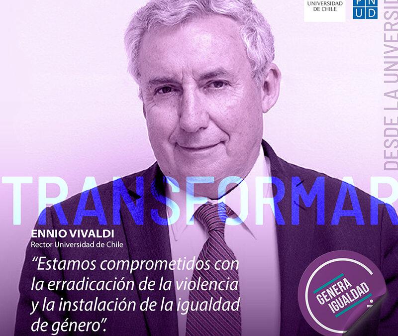 Universidad de Chile lanza campaña para visibilizar avances en estándares de igualdad de Género