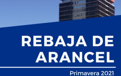 RESULTADOS REBAJA ARANCEL PRIMAVERA 2021