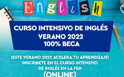 Curso intensivo de inglés – verano 2022
