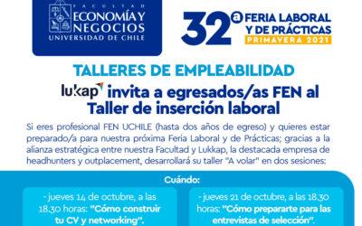 Lukkap te invita al Taller de Empleabilidad: ¡Prepárate para la Feria Laboral y de Prácticas!Lukkap te invita al Taller de Empleabilidad: ¡Prepárate para la Feria Laboral y de Prácticas!