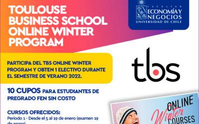 Winter School Toulouse Business School 2022