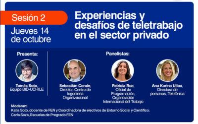 """Sesión 2 seminario: """"Teletrabajo, aprendizajes y avances para su implementación"""""""